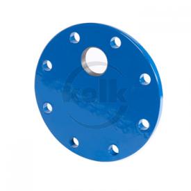 Blindflens met excentrisch draadgat (XDe)  PN10/16