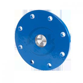 Blindflens met draadgat (XD) PN10/16