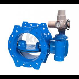 Vlinderklep met ISO topflens (EKK-ISO) PN10/16