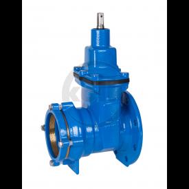 Schuifafsluiter met flens en trekvaste insteekverbinding (SMF-tv) PN10/16