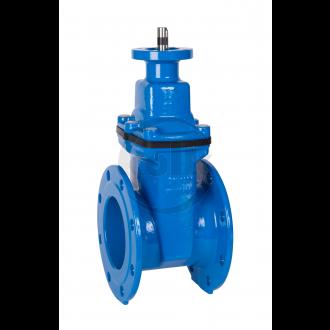 Afvalwater afsluiters (SFRI) PN10 - F4 met ISO topflens